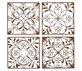 scroll-wrought-iron-wall-decor