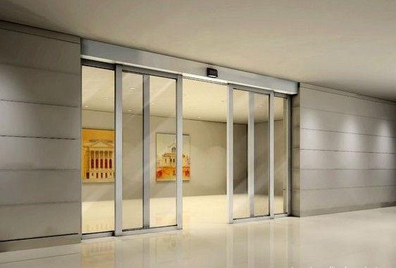 building glass door. automaticglass door building glass